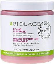 Parfumuri și produse cosmetice Mască de păr - Biolage R.A.W. Re-Hab Clay Mask