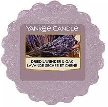 Parfumuri și produse cosmetice Ceară aromată - Yankee Candle Dried Lavender & Oak Wax Melt