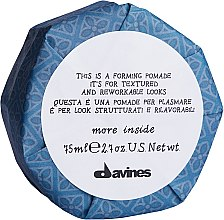Parfumuri și produse cosmetice Pomadă de păr - Davines More Inside This is a Forming Pomade