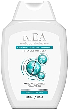Parfumuri și produse cosmetice Șampon anti-cădere, pentru păr normal și uscat - Dr.EA Anti-Hair Loss Herbal Shampoo