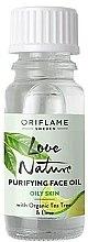 Parfumuri și produse cosmetice Ulei de curățare cu arbore de ceai și tei - Oriflame Love Nature Purifyng Face Oil