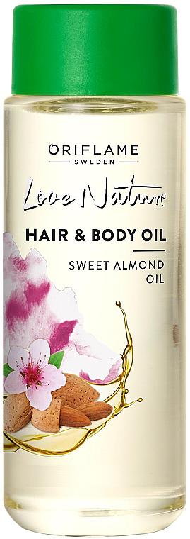 Ulei de migdale pentru corp și păr - Oriflame Love Nature — Imagine N1