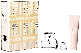 Parfumuri și produse cosmetice Tous Touch The Luminous Gold - Set (edt/100ml + b/lot/150ml + edt/4ml)