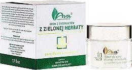 Parfumuri și produse cosmetice Cremă cu extract de ceai verde - Ava Laboratorium Green Tea Cream For Oily To Combination Skin