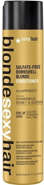 Balsam pentru păr blond - SexyHair BombshellSexyHair Blonde Hair Conditioner — Imagine N2