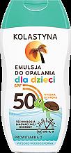 Parfumuri și produse cosmetice Loțiune de protecție solară pentru copii - Kolastyna Sun Protection Kids Lotion SPF 50