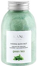 """Parfumuri și produse cosmetice Sare de baie """"Ceai verde"""" - Kanu Nature Green Tea Fizzing Bath Salt"""