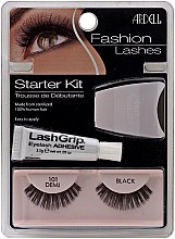 Parfumuri și produse cosmetice Set - Ardell Fashion Lashes Starter Kit Demi Black 101