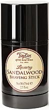 "Parfumuri și produse cosmetice Stick pentru ras ""Lemn de santal"" - Taylor Of Old Bond Street Sandalwood Shaving Stick"