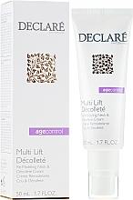 Parfumuri și produse cosmetice Cremă pentru gât și decolteu - Declare Age Control Multi Lift Decollete Re-Modeling Neck