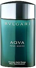 Parfumuri și produse cosmetice Bvlgari Aqva Pour Homme Emulsion - Emulsie după ras