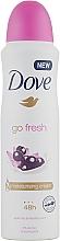 Parfumuri și produse cosmetice Дезодорант - Dove Go Fresh Acai Berry & Water Lily