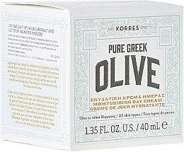 Parfumuri și produse cosmetice Cremă hidratantă cu ulei de măsline, de zi - Korres Pure Greek Olive Day Cream