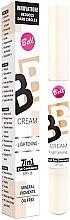 Parfumuri și produse cosmetice Corector cu efect de reflecție - Bell BB Cream Lightening 7în1 Eye Concealer