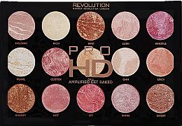 Parfumuri și produse cosmetice Paleta de machiaj - Makeup Revolution Pro HD Amplified Get Baked
