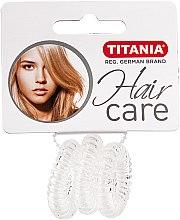"""Parfumuri și produse cosmetice Elastic de păr """"Anti Ziep"""", transparent - Titania"""