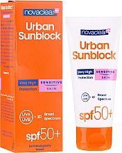 Parfumuri și produse cosmetice Cremă cu protecție solară pentru ten sensibil - Novaclear Urban Sunblock Protective Cream Sensitive Skin SPF50