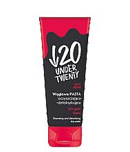 Parfumuri și produse cosmetice Pastă cu extract de cărbune pentru curățarea feței - Under Twenty Anti Acne Cleansing And Detoxing Clay Paste