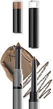Parfumuri și produse cosmetice Pudră și creion pentru sprâncene - Gokos Brow Duo