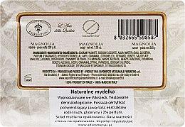 """Săpun de toaletă """"Magnolie"""" - Saponificio Artigianale Fiorentino Magnolia — Imagine N2"""