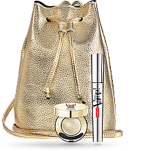 Parfumuri și produse cosmetice Set - Pupa VAMP! Mascara & Vamp! Sparkling Eyeshadow (mascara/9/ml+eyeshadow/001/bag)