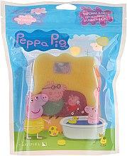 "Parfumuri și produse cosmetice Burete de baie ""Purcelușa Peppa"", roz galben - Suavipiel Peppa Pig Bath Sponge"