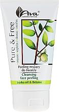 Parfumuri și produse cosmetice Peeling pentru față cu efect de curățare - AVA Laboratorium Pure & Free Cleansing Face Peeling