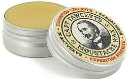 Parfumuri și produse cosmetice Ceară pentru mustăți - Captain Fawcett Expedition Strength Moustache Wax