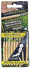 Parfumuri și produse cosmetice Set perii mini, 8 bucăți - Woobamboo Toothbrush Interdental Brush Picks Small