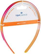 Parfumuri și produse cosmetice Cerc pentru păr, 27901, roz- orange - Top Choice
