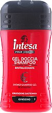 Parfumuri și produse cosmetice Șampon-Gel de duș cu extract de ginseng - Intesa Classic Black Shower Shampoo Gel Revitalizing