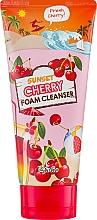 """Parfumuri și produse cosmetice Spumă de curățare pentru față """"Cherry Sunset"""" - Esfolio Sunset Cherry Foam Cleanser"""