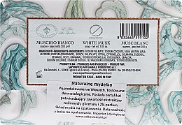 "Săpun de toaletă ""Mosc alb"" - Saponificio Artigianale Fiorentino White Musk — Imagine N2"