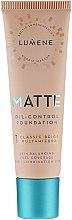 Parfumuri și produse cosmetice Fond de ten - Lumene Matte Oil-control Foundation