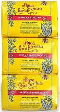 Parfumuri și produse cosmetice Alvarez Gomez Agua De Colonia Concentrada - Set (soap/3x125g)