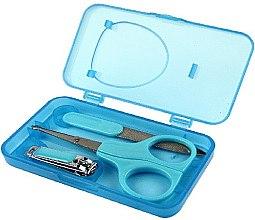 Parfumuri și produse cosmetice Set manichiură pentru copii 2412, 3 instrumente - Donegal Manicure Set