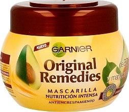 Parfumuri și produse cosmetice Mască intensă cu extract de avocado pentru păr - Garnier Original Remedies Intense Nutrition Anti-frizz Mask