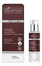 Parfumuri și produse cosmetice Ser regenerant cu mucină de melc - Bielenda Professional SupremeLab Power of Nature