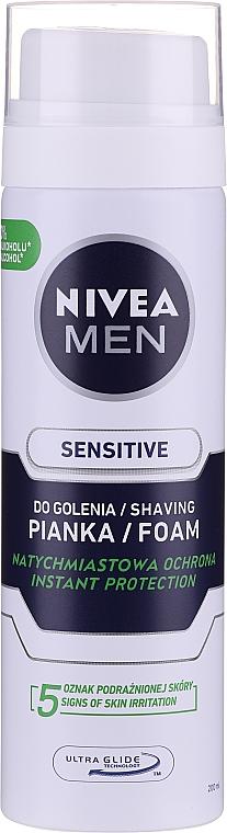 Set - Nivea Men Sensitive Elegance 2020 (foam/200ml + af/sh/balm/100ml + deo/50ml + cr/75ml + bag) — Imagine N5