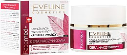 Parfumuri și produse cosmetice Cremă hidratantă pentru față cu extract de merișor - Eveline Cosmetics Facemed+ Face Cream