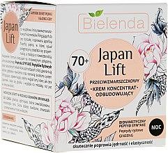 Parfumuri și produse cosmetice Cremă de noapte pentru față 70+ - Bielenda Japan Lift Face Cream 70+