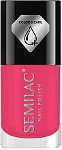 Parfumuri și produse cosmetice Lac de unghii - Semilac Color&Care Nail Polish