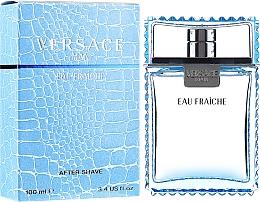 Parfumuri și produse cosmetice Versace Man Eau Fraiche - Loțiune după ras