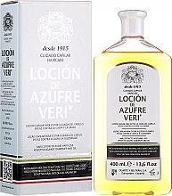 Parfumuri și produse cosmetice Loțiune împotriva căderii părului - Intea Azufre Veri