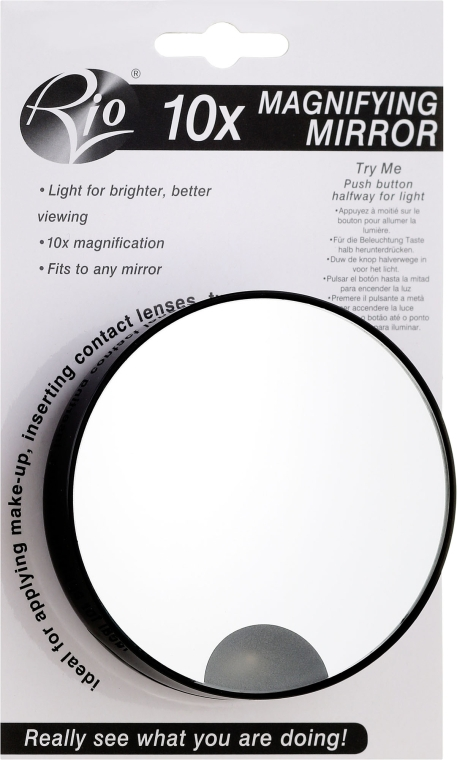 Oglindă - Rio 10X Magnification Mirror Skincare — Imagine N1