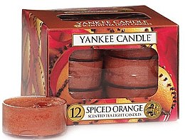 Parfumuri și produse cosmetice Lumânări pastile - Yankee Candle Scented Tea Light Candles Spiced Orange