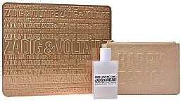 Parfumuri și produse cosmetice Zadig & Voltaire This Is Her - Set (edp/50ml + golden pouch)