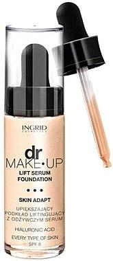 Fond de ten cu efect lifting - Ingrid Cosmetics Lift Serum Foundation SPF8 — Imagine N1