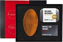 Parfumuri și produse cosmetice Set - Zew For Men (balm/80 ml + soap/85ml + brush)
