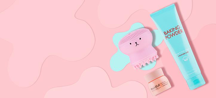 La achiziționarea produselor Etude House începând cu suma de 525 MDL, primești cadou o perie de silicon pentru curățarea facială